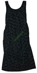 New-Women-039-s-Maternity-Tank-Dress-Black-Gray-NWT-Liz-Lange-Size-X-S-M-L-XL-XXL