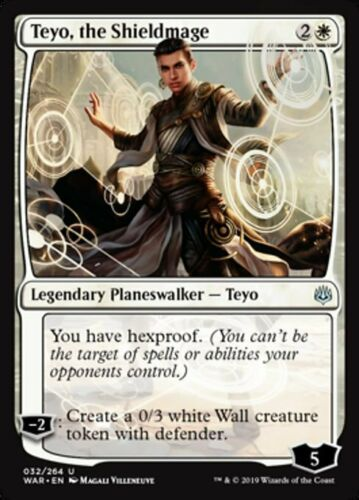 the Shieldmage *MtG: 4x Teyo magicman-europe* War of the Spark Uncommon