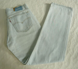 Details zu Levis Levi`s 501 Herren Men Jeans Hose 3333 W33 L33 Denim Light Wash Blau A568