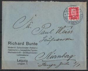 Empire-Allemand-Minr-414-Ef-Sst-Leipzig-Ville-Foire-14-09-1930