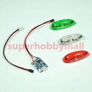 3PCS//Set RC Aircraft Part EasyLight LED position light Version2 /& free shipping