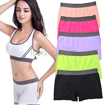 2015 Women Sports Gym Workout Waistband Skinny Yoga Shorts Pure Pants