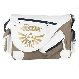 d1aca8b3a7 Details about Legend of Zelda Triforce Canvas Messenger Bag Shoulder Bag  Satchel Tote School