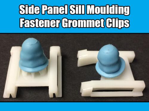 10x Fastener Trim Grommet Clip for Volkswagen VW Passat Side Panel Sill Moulding