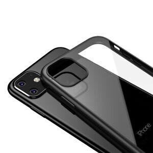 Silikon-Huelle-iPhone-11-Pro-Max-Case-Handyhuelle-Cover-Klar-Schutzhuelle-Glas