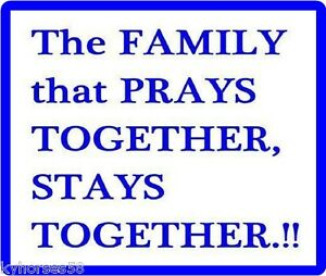 Nice The Family That Prays Together Stays Together Refrigerator Magnet