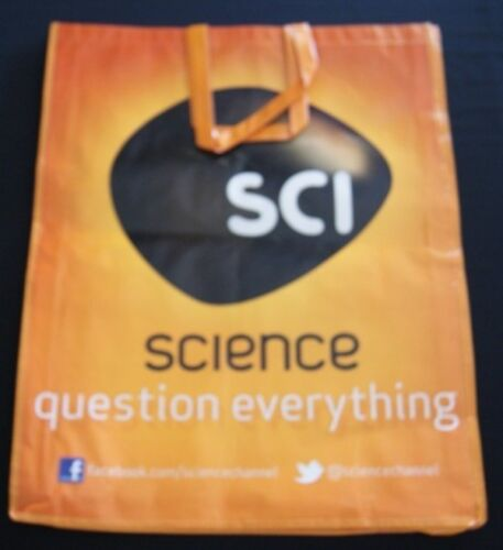 SDCC Comic Con 2012 EXCLUSIVE SCI Science Swag bag FIREFLY FRINGE DARK MATTERS