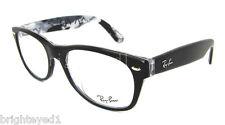 Authentic RAY-BAN NEW WAYFARER Black Eyeglass Frame RX 5184F  -  5405  -  52mm