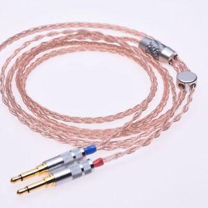 Hi-end-8-Cores-5n-Pcocc-Headphone-Upgrade-Cable-for-Denon-AH-D600-D7100