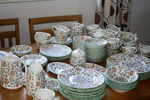 Minton Haddon Hall Breakfast- Dinner and Tea ware Shipping to the U.S.A. daily 9mTYFuAp-09164010-483503546