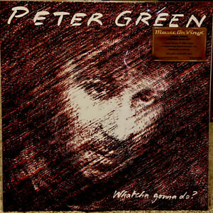 Peter-Green-WHATCHA-GONNA-DO-180g-LTD-EDITION-Numbered-SEALED-COLORED-VINYL-LP