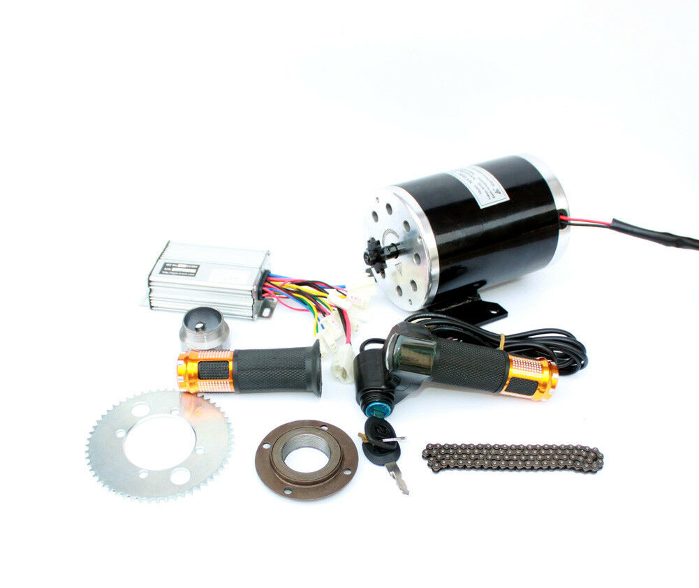 750W Electric Motorbike Engine Kit High Speed Electric Burshed DC Motor DIY Elec