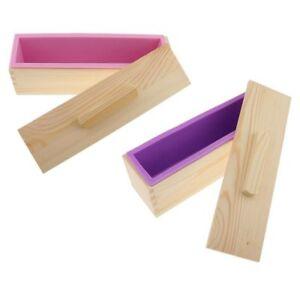 2X-Moule-a-savon-en-silicone-fait-a-la-main-bricolage-moule-a-savon-rectan-K2