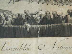 Asamblea Nacional Abandon De Privilegios 1789 Helman Monnet