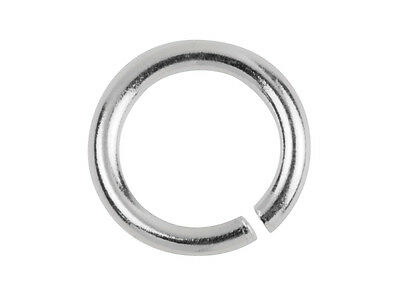 Silver Jump Rings 0.925  Round Open 3 4 5 6 7 8 9 10 mm - Best UK Findings