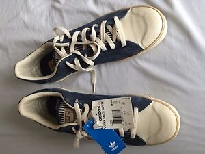 e122835b8c5 Details about Extremely Rare Adidas Stan Smith Safety Classic Tennis Shoes  UK 12.5 US 13