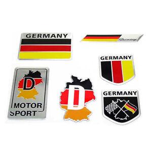 Nationality plate Germany Sticker Motorcycle Flag Helmet Car
