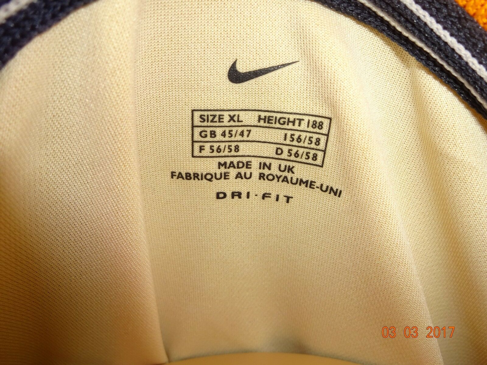 Hertha BSC Berlin Nike Nike Nike Langarm Ausweich Spieler Trikot 00 01  o.tel.o Gr.XL Neu 9624aa