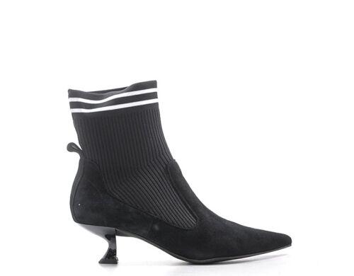 Schuhe JEFFREY CAMPBELL Frau NERO Stoff,Wildleder  JCSJC54751KNI-BLK