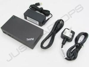 Neuf-Lenovo-Noir-310-510-700-USB-3-0-Ultra-Dock-Station-Port-Replicateur