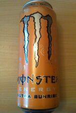 1 Volle Energy Drink Dose 500ml Monster Zero Ultra Sunrise Full Can Coca Belgien