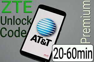 Details about Unlock Code AT&T ZTE Maven Z835 Z812 Z971 Z831 Z830 ZMAX 2  Z958 Z998 Z992 USA