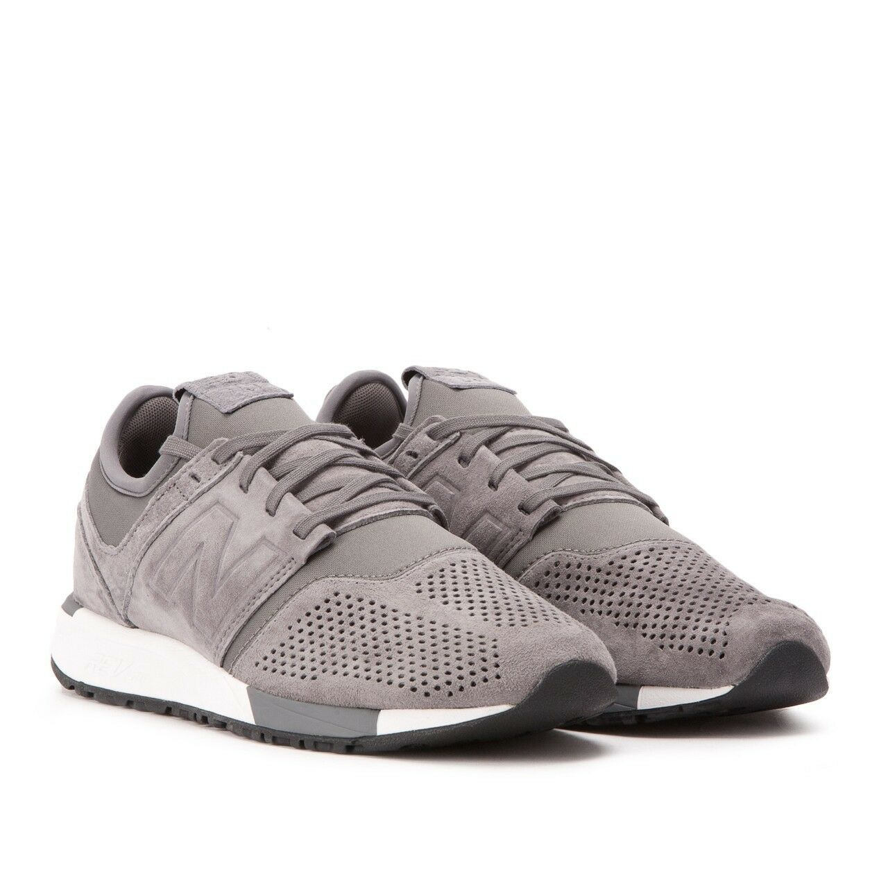 New Balance 247 Grey Suede Revlite New Men Shoes Gym Training Running MRL247LY