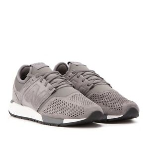 new balance 247 grey suede revlite new men shoes gym training running mrl247ly ebay. Black Bedroom Furniture Sets. Home Design Ideas