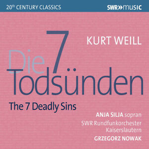 Kurt-Weill-Kurt-Weill-The-7-Deadly-Sins-CD-2019-NEW-Amazing-Value