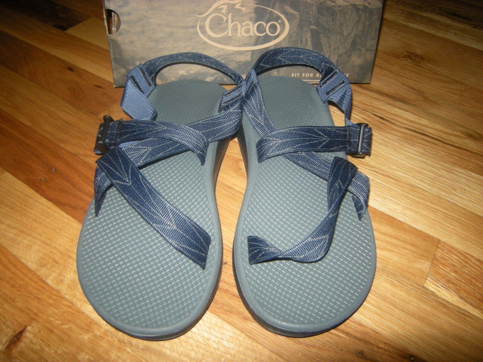 Totalmente Nuevo Para Hombres Sandalias Chaco zcloud Aero azul, tamaño 12 M