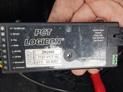 Magnificent Towing 7 Way Bypass Relay Pct Logicon Zr2500 Wiring 101 Orsalhahutechinfo