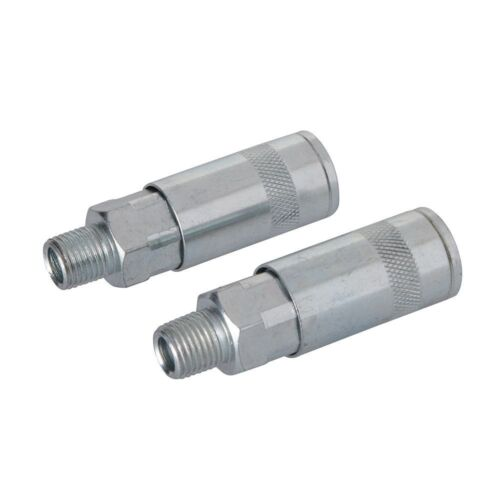 Silverline Air Line Quick Coupler 70mm Pack of 2