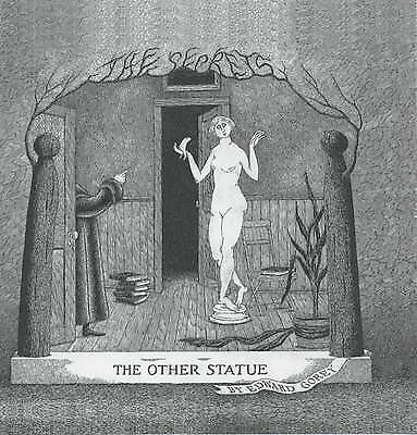 1 of 1 - The Other Statue (The secrets), Very Good Condition Book, Gorey, Edward, ISBN 97