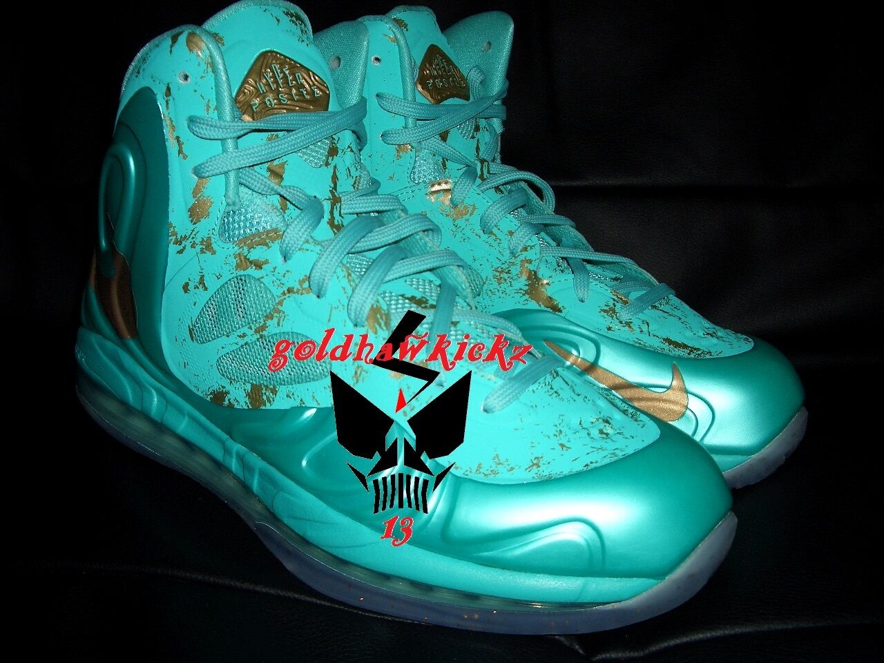 Nike Hyperposite Statue Of Liberty SOL 10 galaxy barkley foamposite rondo