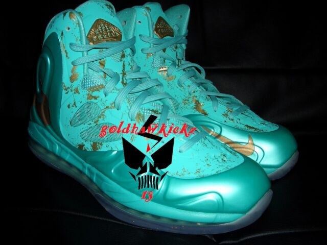 finest selection 6a649 3c0ba Nike Hyperposite Statue Of Liberty SOL 10 galaxy barkley foamposite rondo