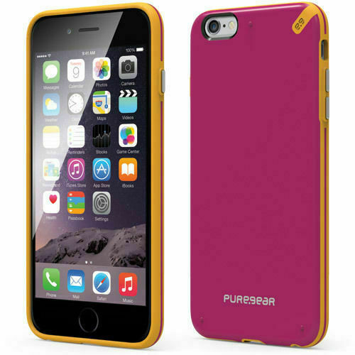 Apple Iphone 6s Plus Puregear Slim Shell Rugged Case Sunset Pink For Sale Online Ebay
