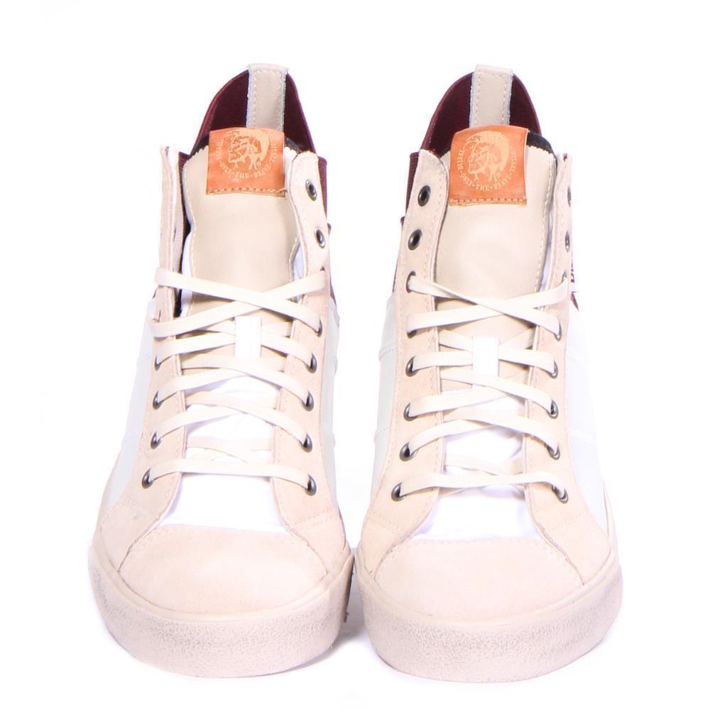 Men Diesel scarpe S-Tunnyngs Fashion bianca Dimensione Dimensione Dimensione 11 7cb5f8