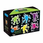 Keith Haring Glow in The Dark Puzzle by Mudpuppy Press 9780735348011