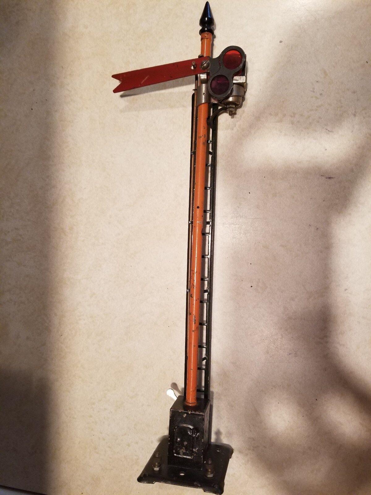 Lionel Tall Standard Gauge Semaphore  (JS)