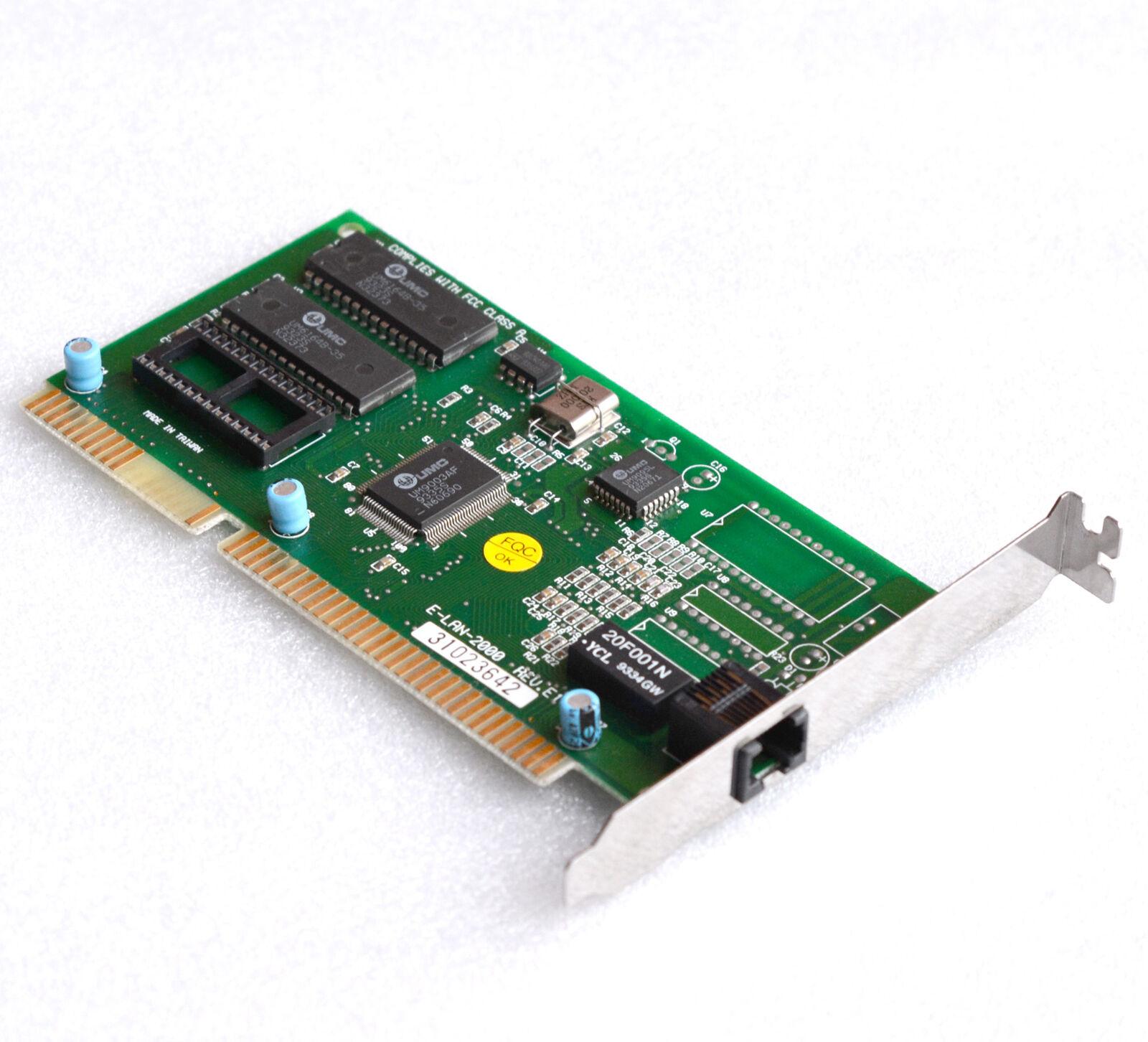 Vintage 10 Mbps ISA NETWORK CARD RJ45 NetworkCard E