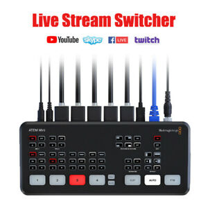 Original Blackmagic Design Atem Mini Switcher Hdmi Multi View Live Stream Video Ebay