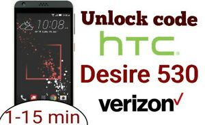 Details about Unlock Code Verizon HTC Desire 530 USA Premium instant