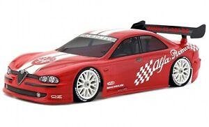 Karosserie-Alfa-Romeo-156-clear-decals-1-10-Lexan-Body-HPI-7410