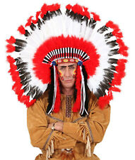 Maxi Indianerkopfschmuck Sioux NEU - Karneval Fasching Hut Mütze Kopfbedeckung