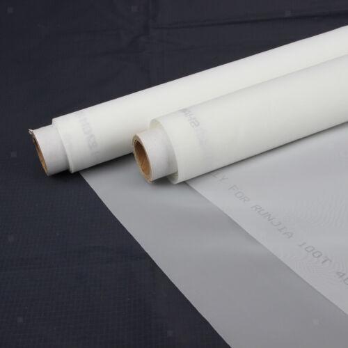 1 Meter Silk Screen Printing Mesh Fabric 145cm Width 39T White Color