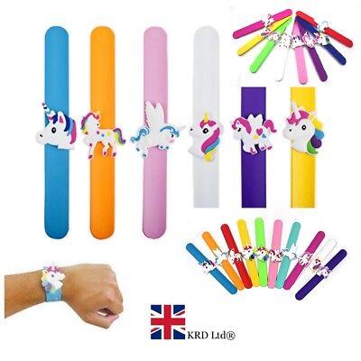 MERMAID SLAP BANDS Kids Girls Wrist Birthday Party Bag Filler Toy Gift UK