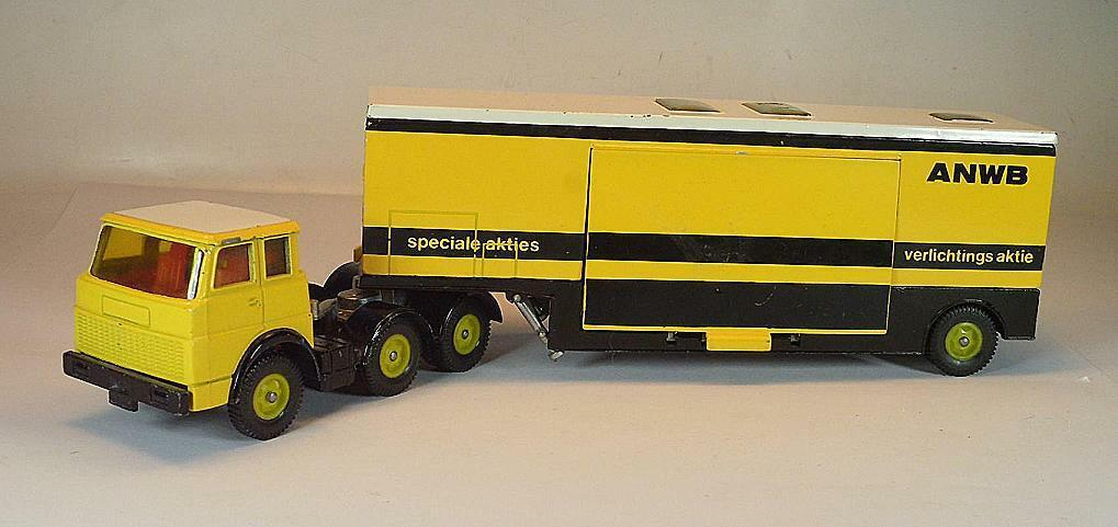 Siku Henschel f201s-2a ANWB olandese ADAC profittare auto #1034