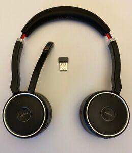 Jabra Evolve 75 Stereo Uc With Link 370 Ebay