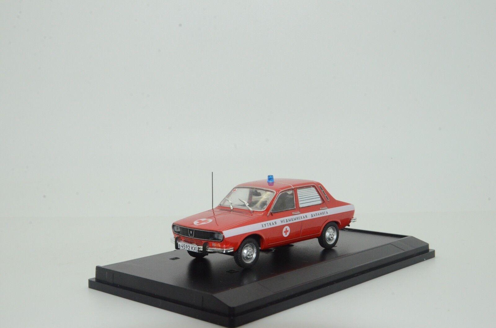 Mega RARE  Dacia 1300 Belarus Medical Car Ambulance Custom Made 1/43