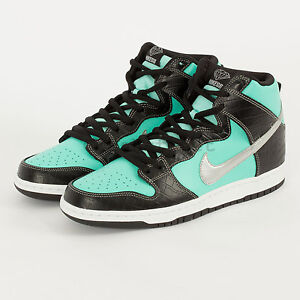 75e6f761c3 Nike Dunk High SB x Diamond Supply Co. supreme sneaker 653599-400 ...
